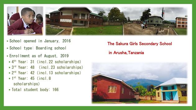 The Sakura Girls Secondary School in Arusha,Tanzania